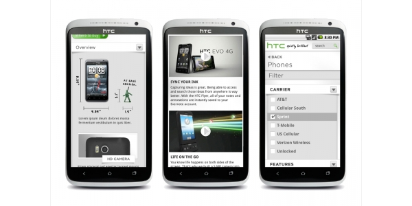 HTC - odblokování telefonu na všechny operátory