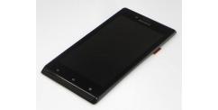 Sony Xperia J ST26i Black - výměna předního krytu, LCD displeje a dotykové plochy