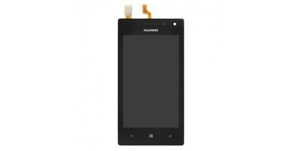 Huawei W1 - výměna předního krytu, LCD displeje a dotykové plochy