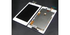 Sony Xperia L C2105 - výměna předního krytu, LCD displeje a dotykové plochy