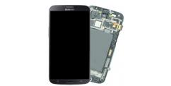 Samsung i9205 Galaxy Mega 6.3 - výměna předního krytu, LCD displeje a dotykového sklíčka (černý)