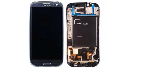 Samsung i9301 Galaxy S3 NEO Blue - výměna předního krytu, LCD displeje a dotykového sklíčka
