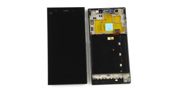 Xiaomi Mi3 - výměna LCD displeje, dotykového sklíčka a předního krytu
