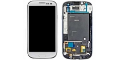 Samsung i9300 Galaxy S3 - výměna předního krytu, LCD displeje a dotykového sklíčka