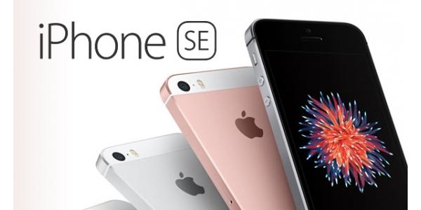 iPhone SE - výměna LCD displeje a dotykového sklíčka