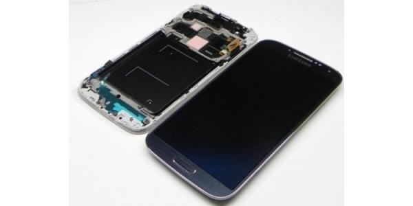 Samsung i9505 Galaxy S4 - výměna předního krytu, LCD displeje a dotykového sklíčka (černé)